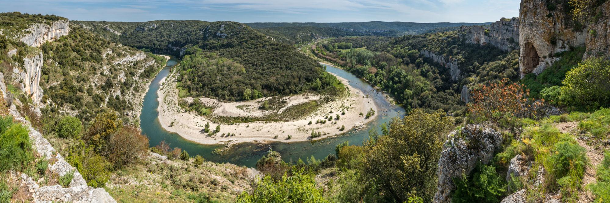 Méandre des gorges du Gardon, Sainte-Anastasie