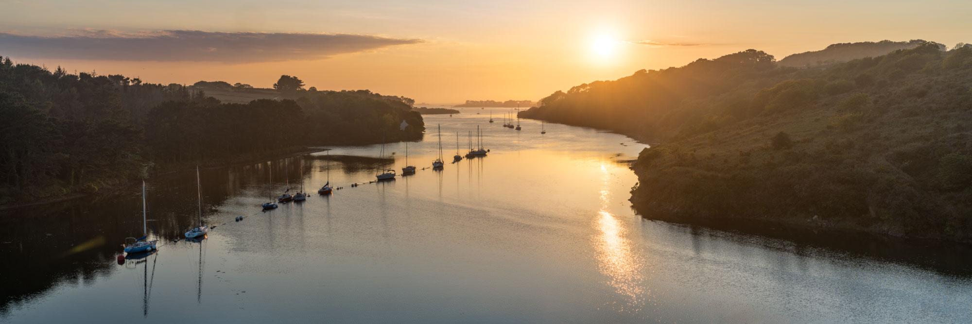 Aber Wrac'h, fleuve côtier du pays de Léon