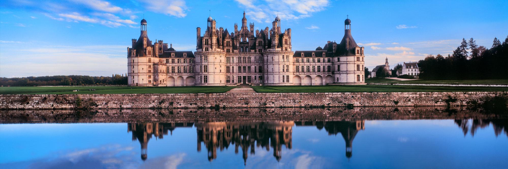 Le plus vaste des châteaux de la Loire, Chambord