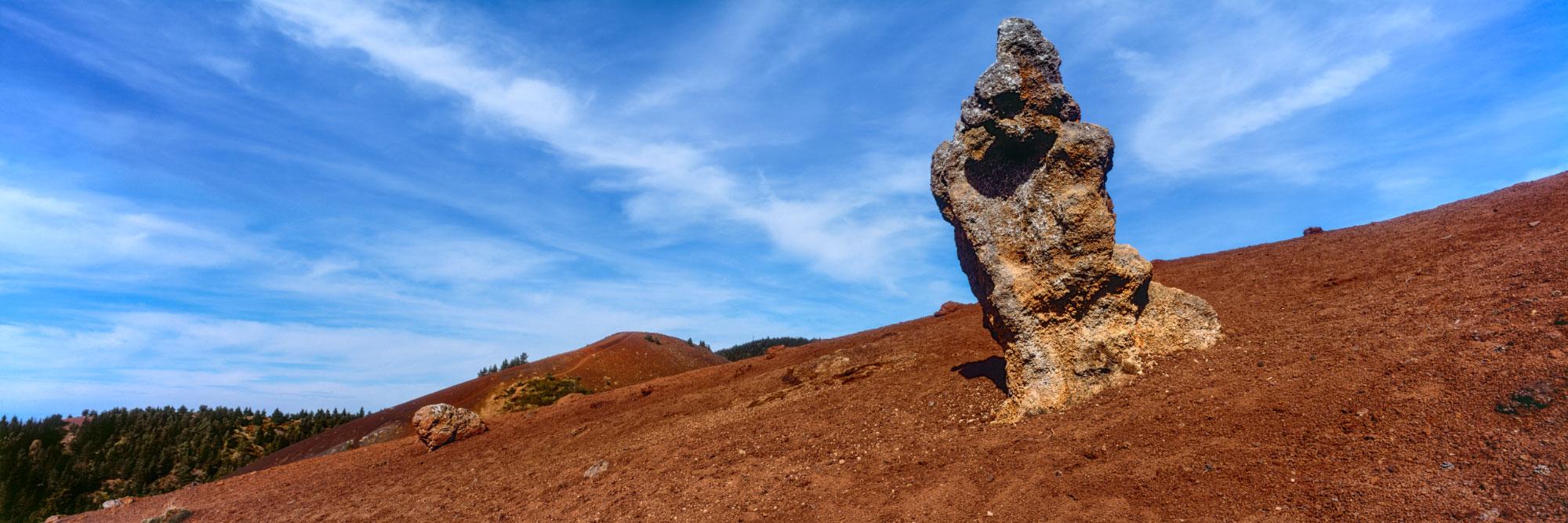 Puy de la Vache, bombe volcanique, Chaîne des Puys