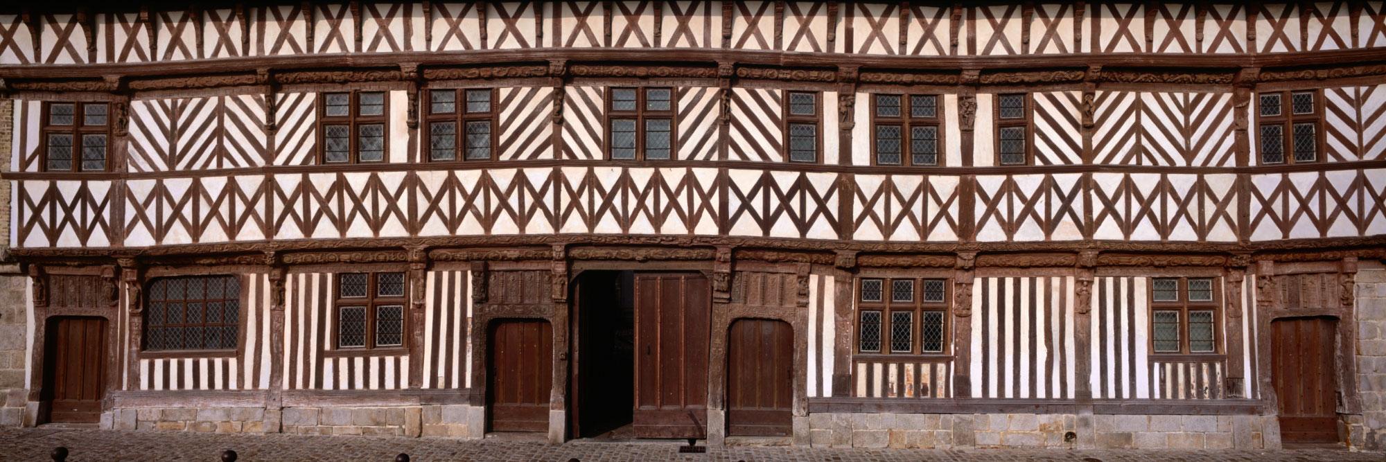 Maison Normande, St-Valery-en-Caux, Côte d'Albâtre