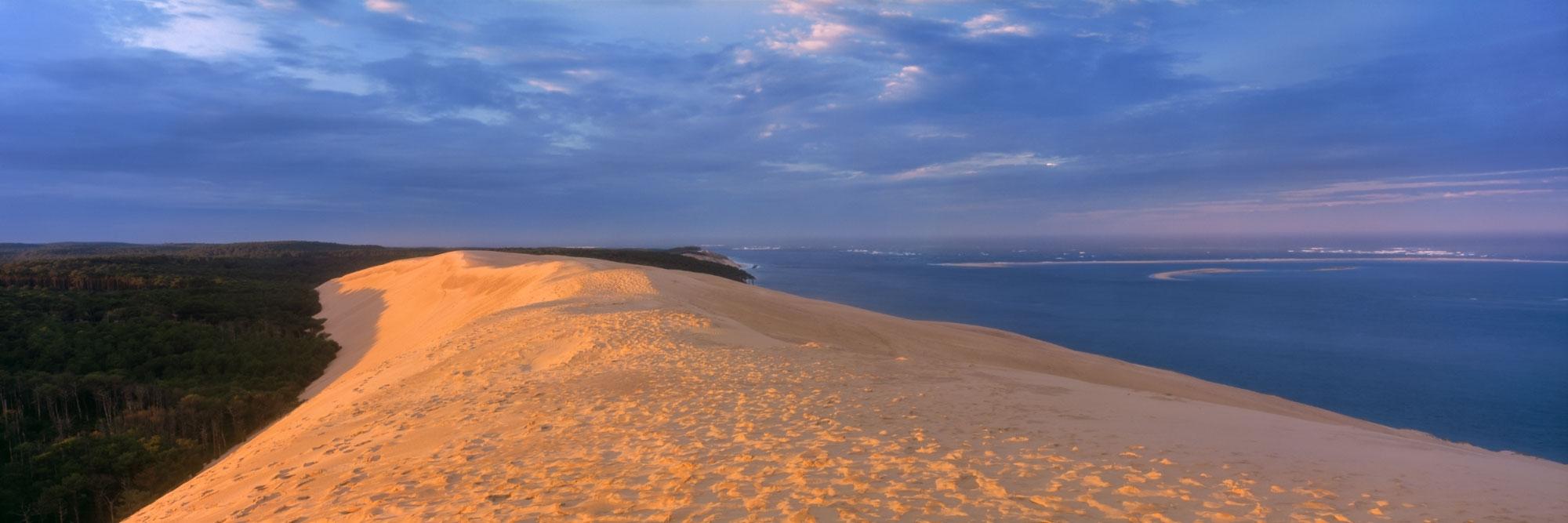 Dune du Pyla et banc d'Arguin, côte Atlantique