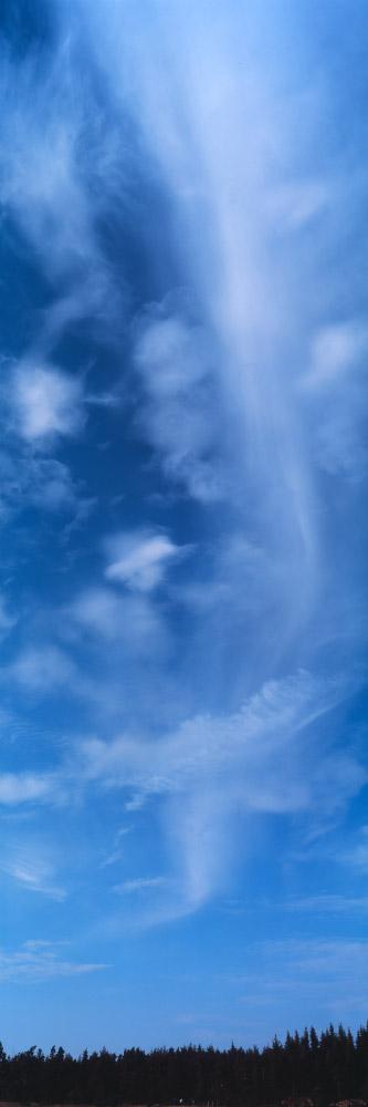 Ciel au dessus du plateau du Cézallier