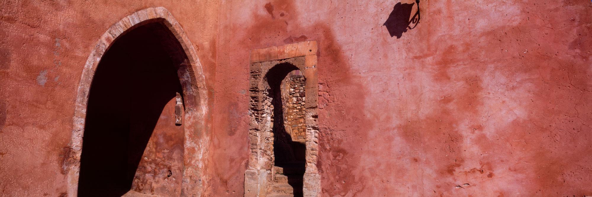 Mur ocre, Roussillon, Parc Naturel Régional du Lubéron