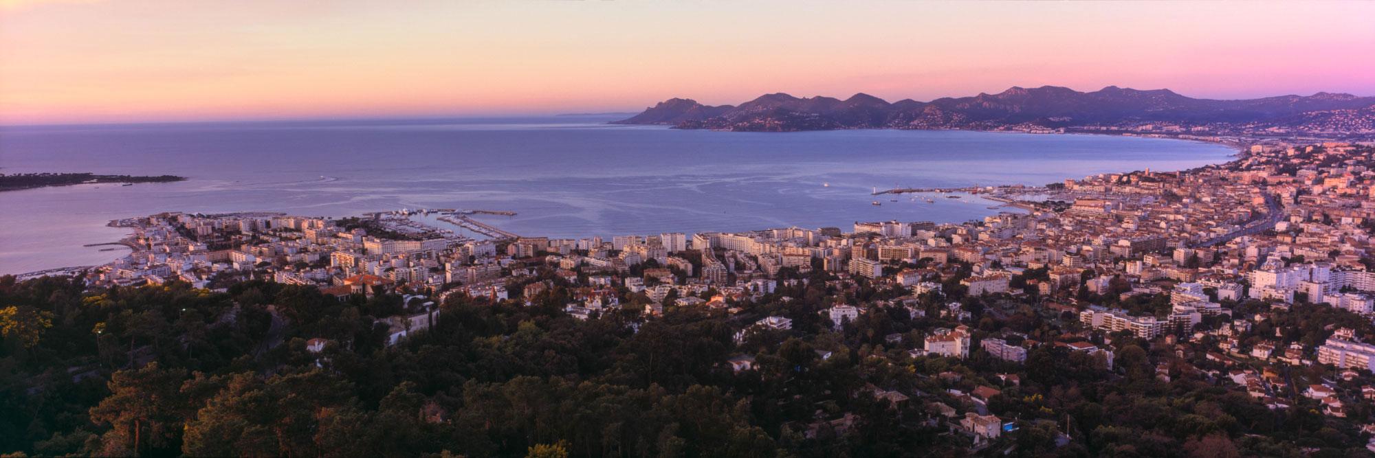 Baie de Cannes et Massif de l'Esterel, Côte d'Azur