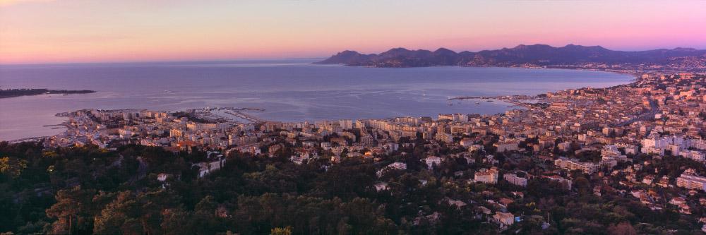 73 Baie de Cannes et Massif de l'Esterel, Côte d'Azur, Alpes-Maritimes