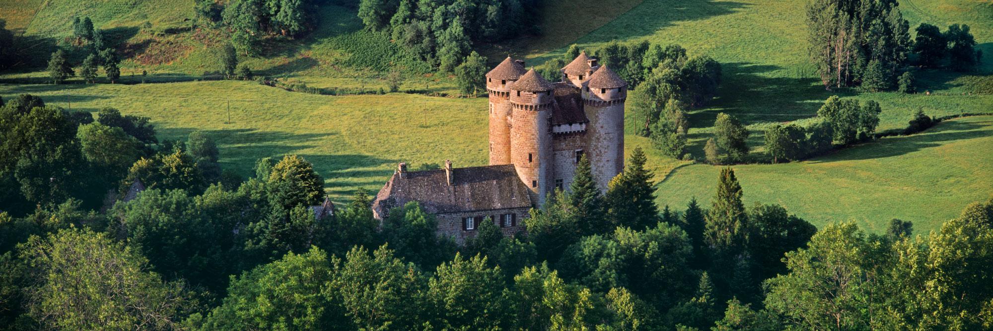 Château d'Anjony, Tournemire