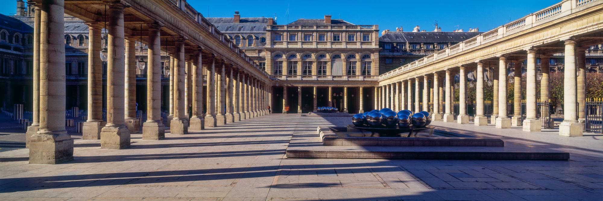 Cours d'honneur du Palais-Royal