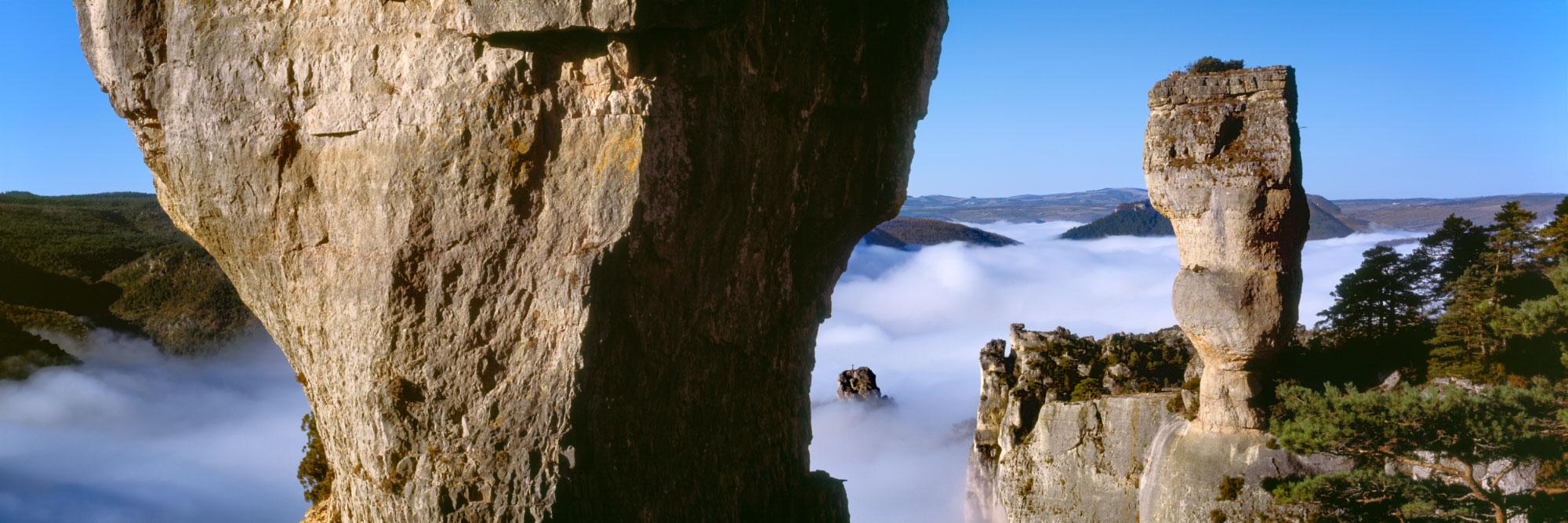 Gorges de la Jonte, Grandes Causses