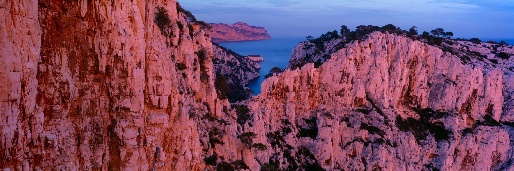 En Vau du belvédère de l'Oule, Calanques de Marseille