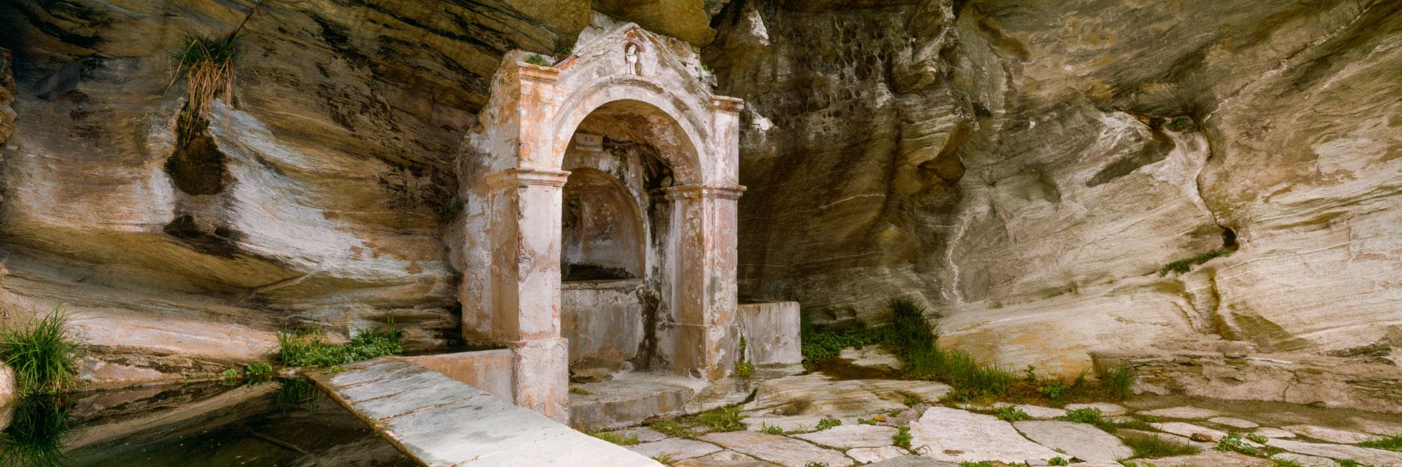 Fontaine, hameau de Canelle (Centuri), Cap Corse