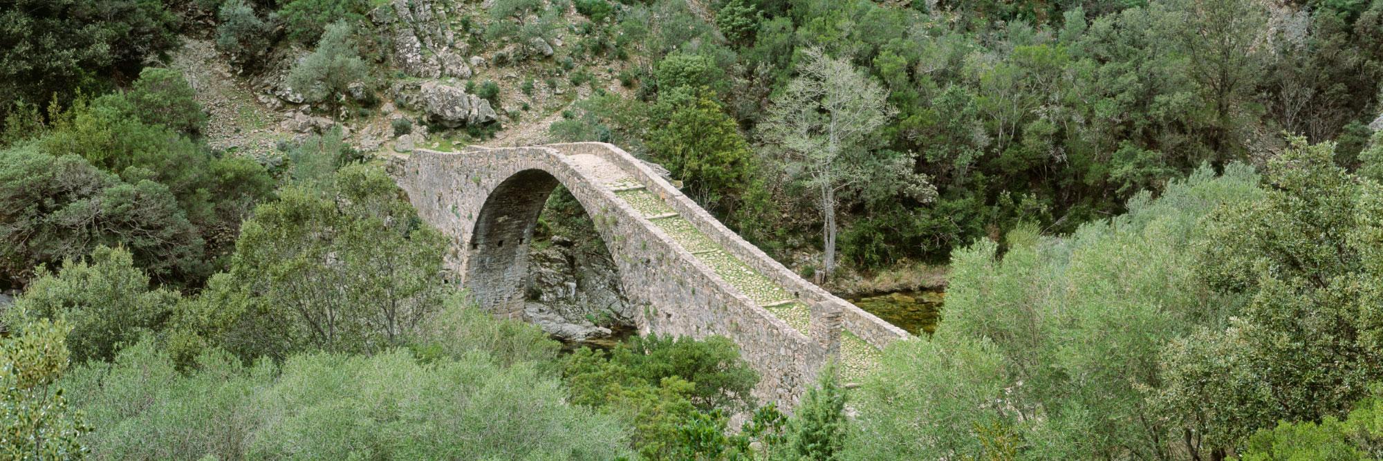 Pont génois d'Ota, dit 'Ponte Vecchiu'