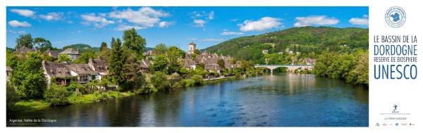 14934    La Dordogne à Argentat (Corrèze), Mai