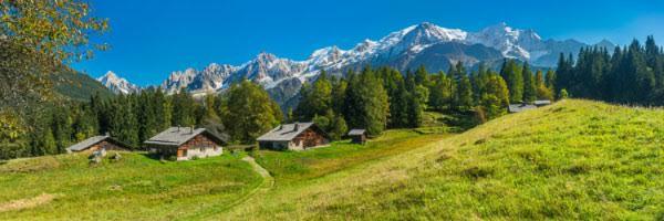 Alpage de Charousse et Mont-Blanc