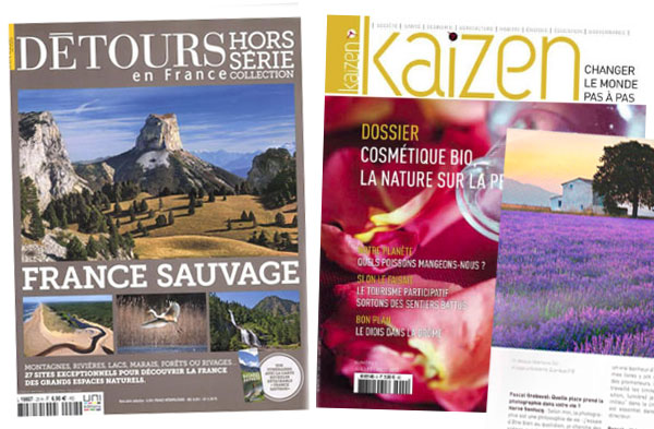 Detours en France couverture